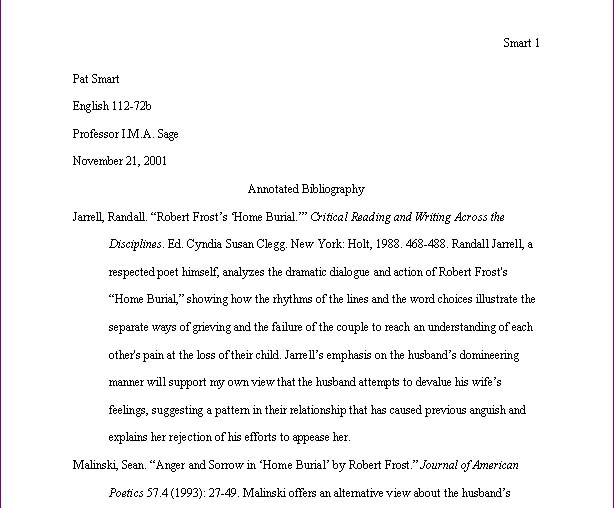 Annotated bibliography in mla - Write My Custom Paper.