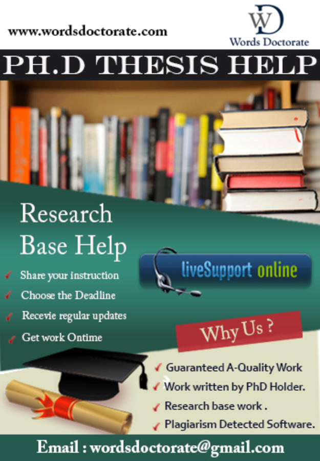 Dissertation Writing Services from Expert PhD Writers