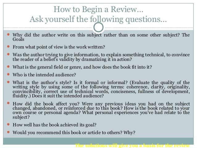 questions to ask when writing an academic essay